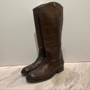 Frye Melissa Button 2 Brown Boots